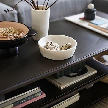 Profile Coffee Table, Antique Bronze
