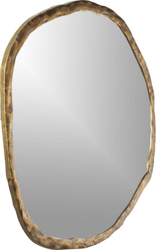 """Abel Round Mirror 48"""""""
