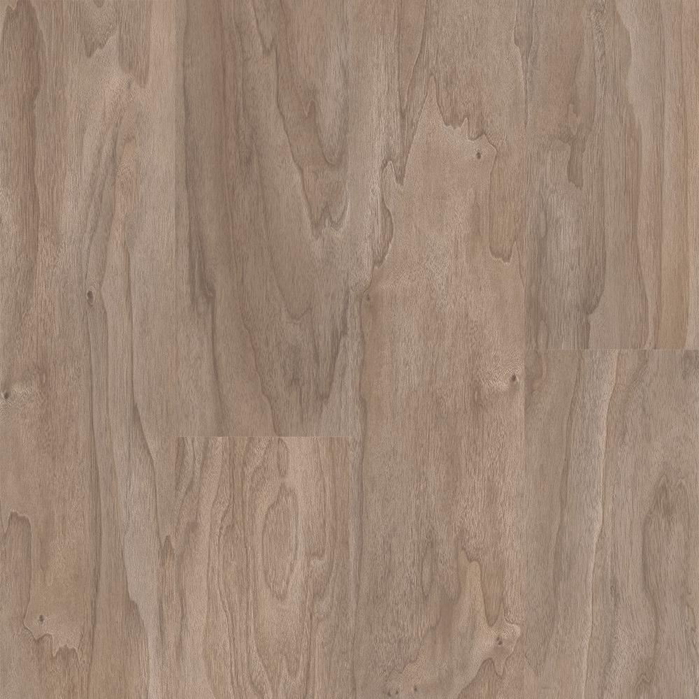 Walnut Warm Grey 6 in. Wide x 48 in. Length Click Floating Vinyl Plank Flooring (19.39 sq. ft./case), Warm Grey Walnut