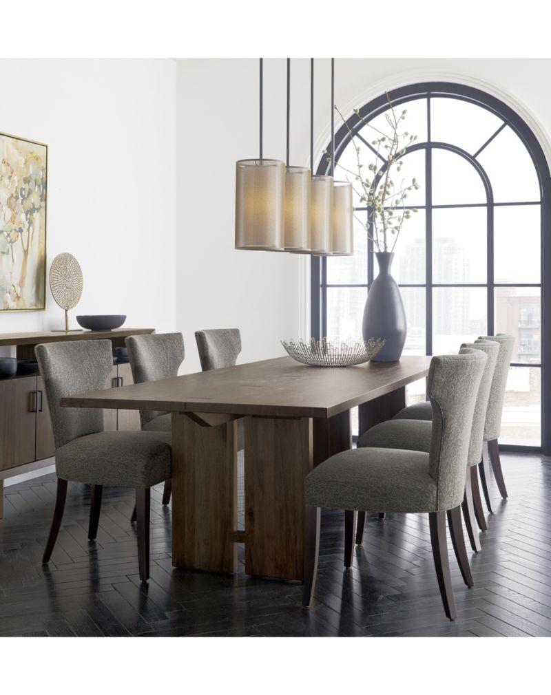 "Monarch 92"" Shiitake Dining Table"