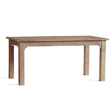 Thalia Fixed Dining Table, Tibetan Sand