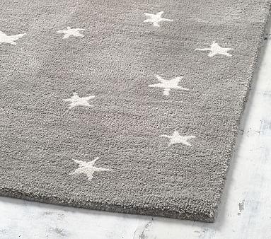 Starry Skies Rug, 3x5', Gray