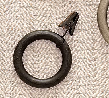 PB Standard Clip Rings, Set of 10, Large, Antique Bronze Finish