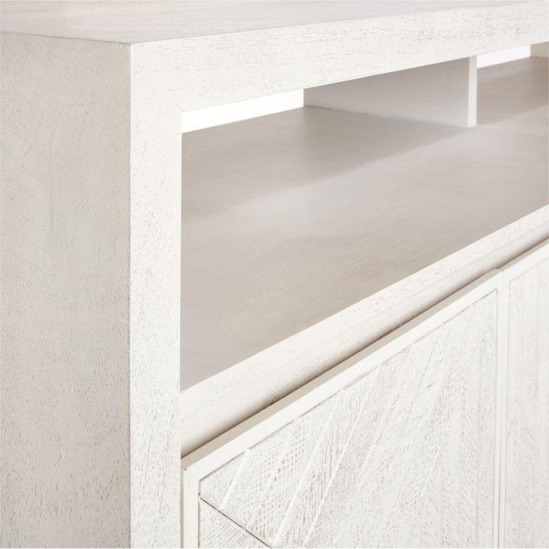 Dunewood Whitewashed Sideboard