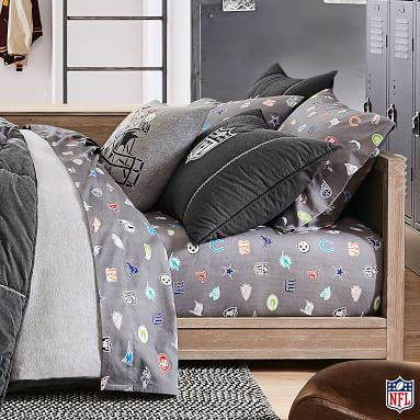 NFL(R) Bright Logo Sheet Set, Twin/Twin XL, Multi