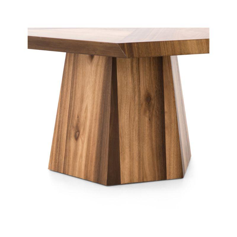 Bronx Blonde Yukas Geometric Dining Table