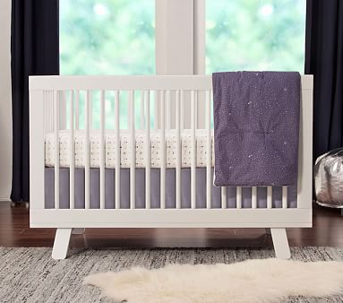 Babyletto Hudson 3-in-1 Crib, Washed Natural, Standard UPS Delivery