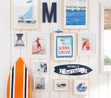 Little Whale Wall Art by Minted(R) 8x10, White