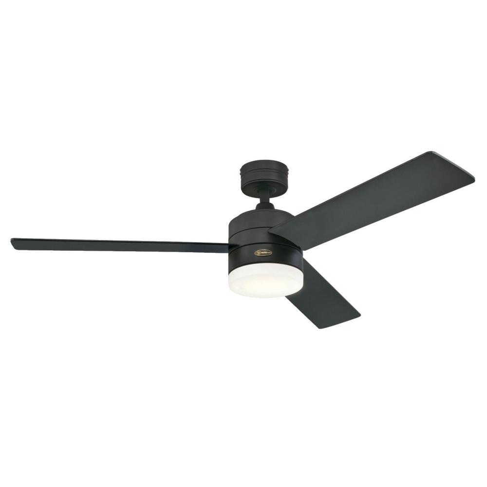 Westinghouse Alta Vista 52 in. LED Matte Black Ceiling Fan