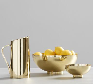 Gold Serve Bowl, Large