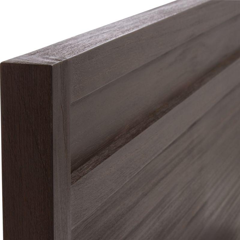 Keane Wenge Solid Wood Queen Bed