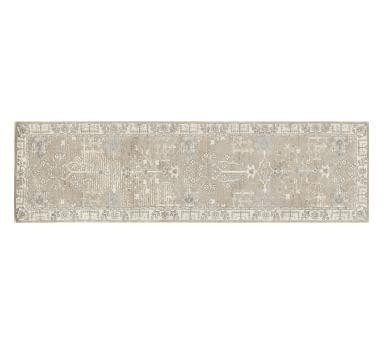 Reeva Printed Rug, 3x5, Neutral Multi