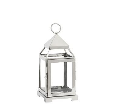 Malta Lantern - Silver Finish, Small