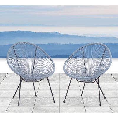 Zion Papasan Chair Set Of 2 Wayfair