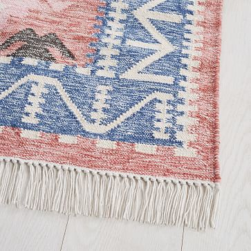 Framed Arrows Indoor/Outdoor Rug, Multi, 9'x12'
