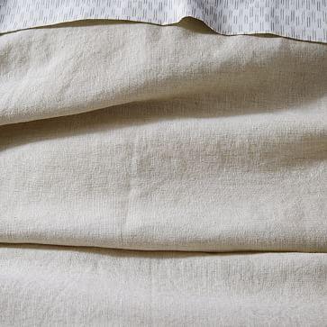Belgian Linen Euro Sham, Natural Flax
