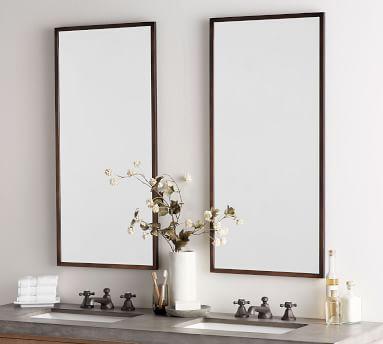 Kensington Slim Mirror, Chrome