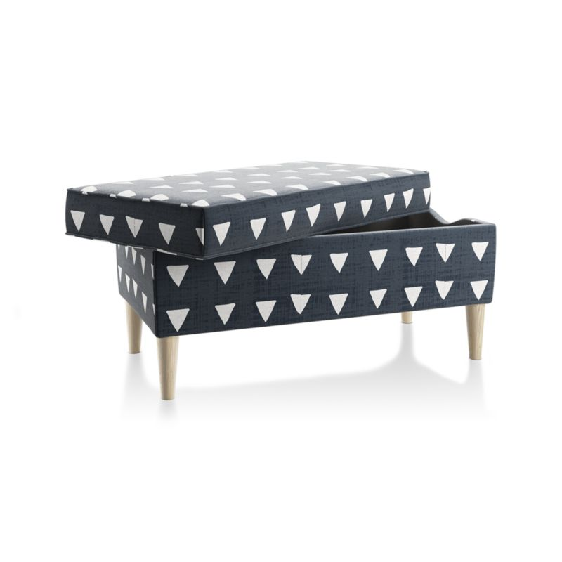 As You Wish Upholstered Storage Bench