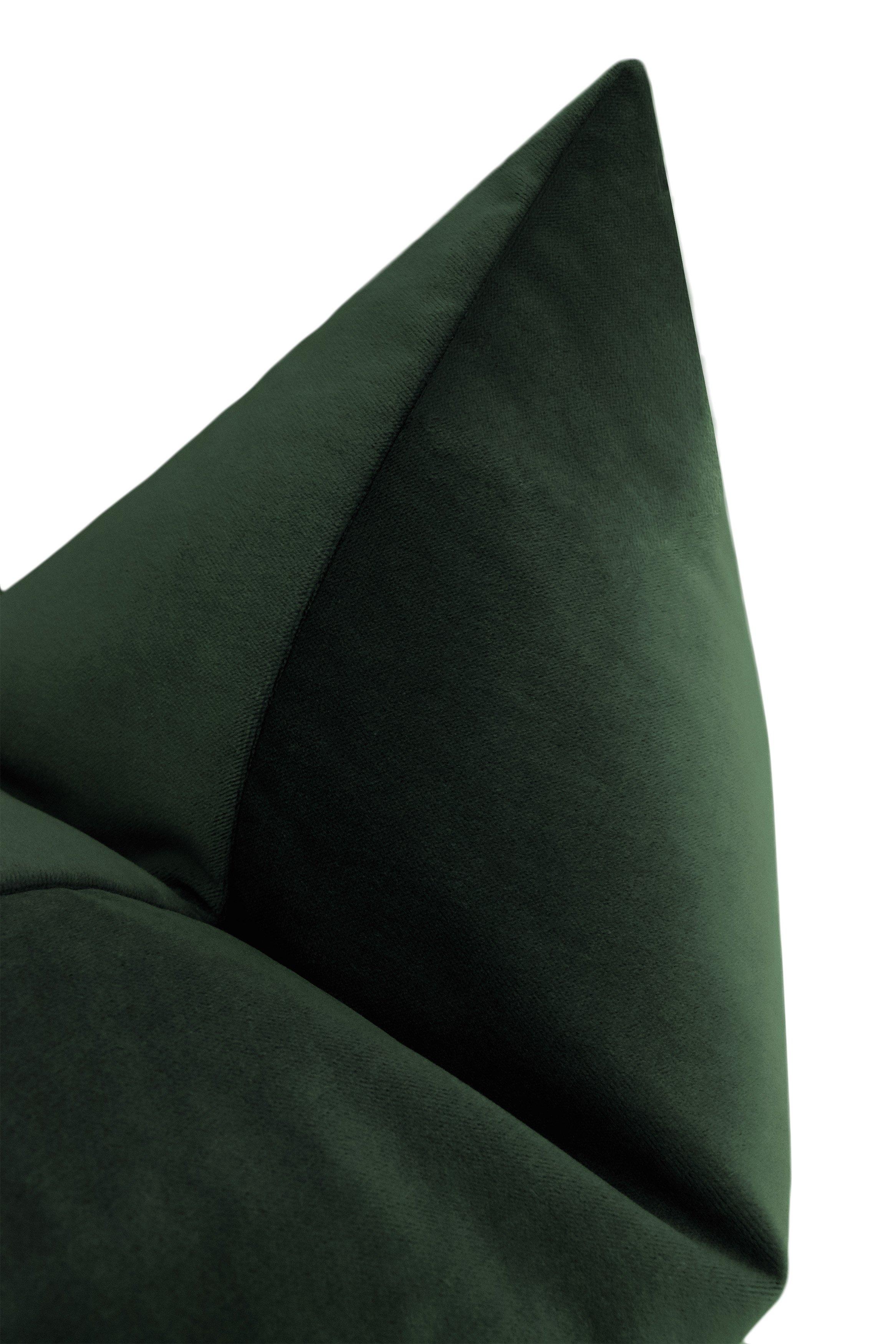 "Society Velvet // Emerald, 20"""