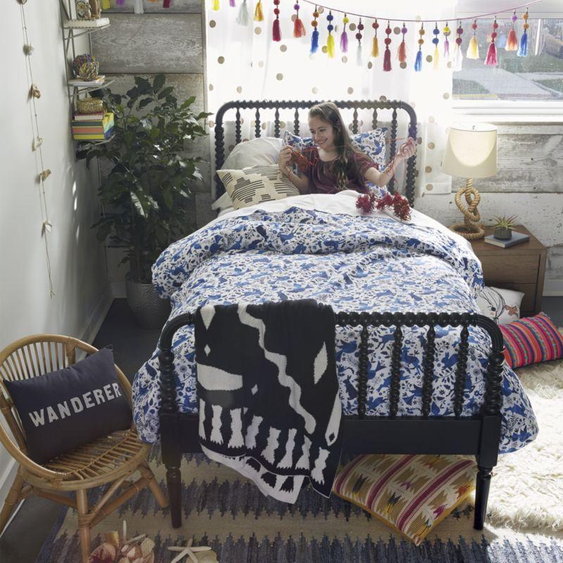 Jenny Lind Black Full Bed