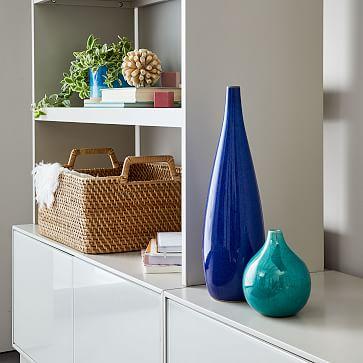 Bright Cermicist Vase, Tall Teardrop, Pink