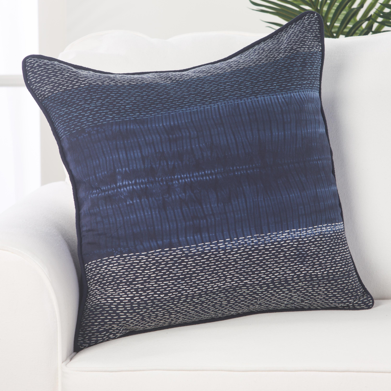 "Design (US) Navy 20""X20"" Pillow"
