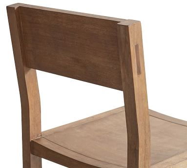 Reed Dining Chair, Antique Umber