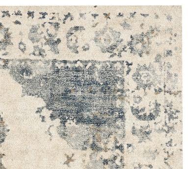 Aleah Printed Rug, 8x10', Blue Multi