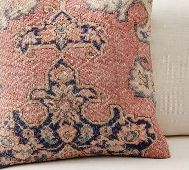 """Valari Printed Pillow, 20"""", Multi"""