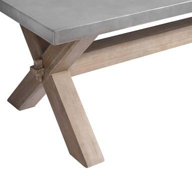 Abbott Rectangular Dining Table, Gray