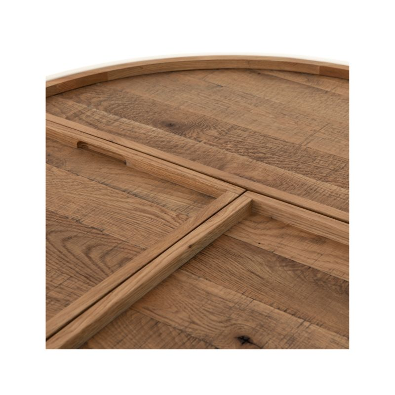 Dean White and Oak Coffee Table