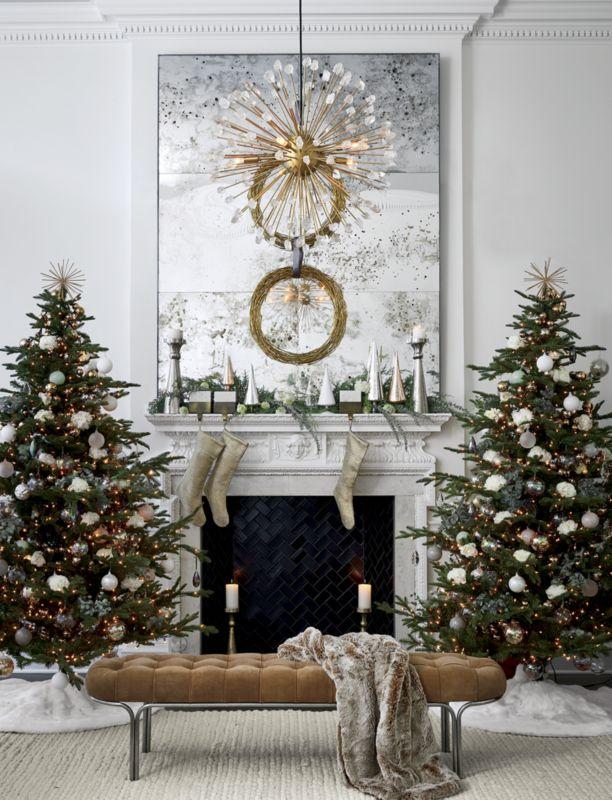 Paz Extra Large White Glass Tree