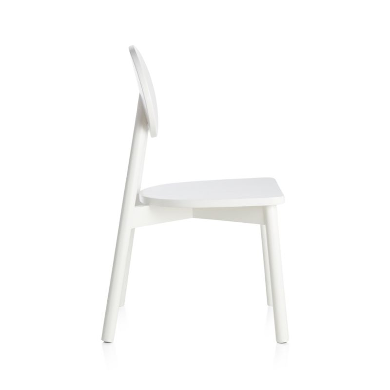 Kelsey White Play Chair