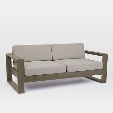 Portside Sofa, Weathered Gray