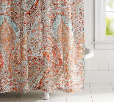 Paloma Print Shower Curtain