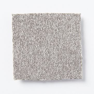Upholstery Fabric by the Yard, Marled Microfiber, Ash Gray