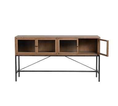 Inglewood Console Table, Warm Taupe