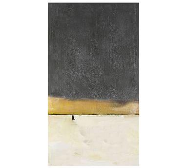 "Neutral Colorfield Canvas, 30 x 54"""