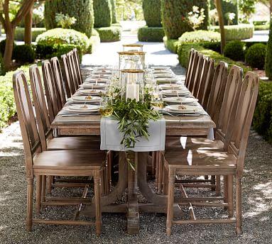 Linden Extending Dining Table , Belgian Gray