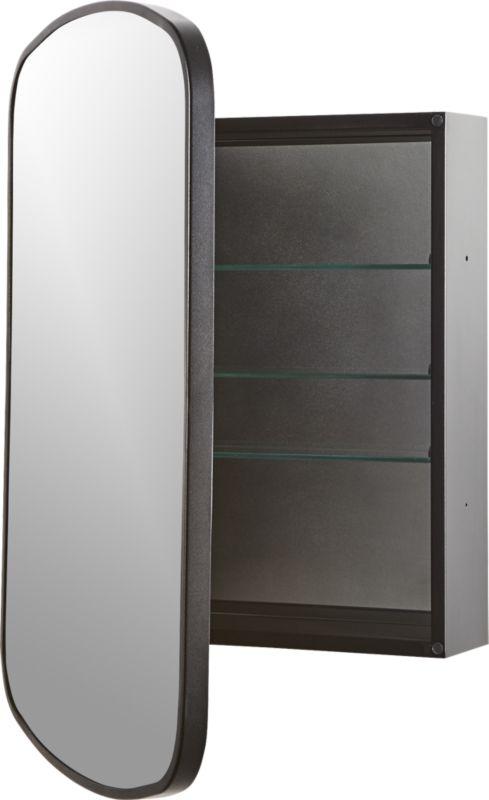 Nel Black Medicine Cabinet