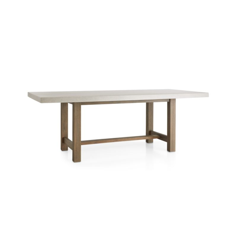 Caicos Cement Top Dining Table
