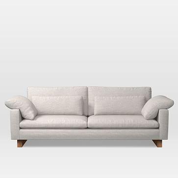 """Harmony Grand 92"""" Sofa, Twill, Sand, Standard 42""""D"""
