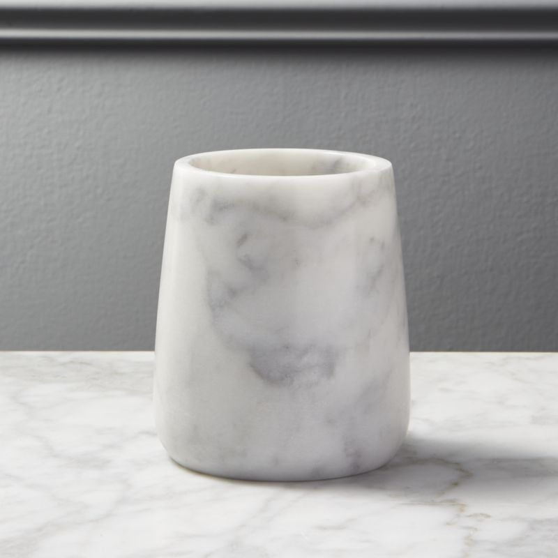 Marble Pencil Cup