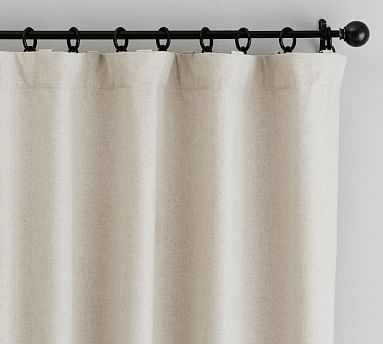 "Calhan Tweed Drape, 50 x 108"", Neutral Fleck"