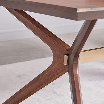 "Wright Dining Table, 72"", Dark Walnut"
