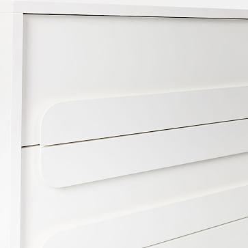 Gemini 6-Drawer Dresser, White