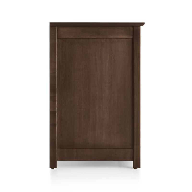 """Ainsworth Cocoa 64"""" Media Console with Glass/Wood Doors"""