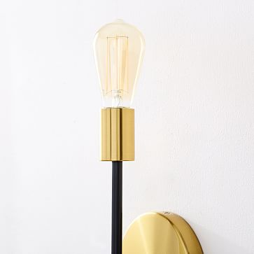 Mobile Sconce, 2-Light, Two-Tone - Individual
