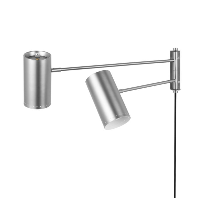 Duo Wall Sconce Nickel