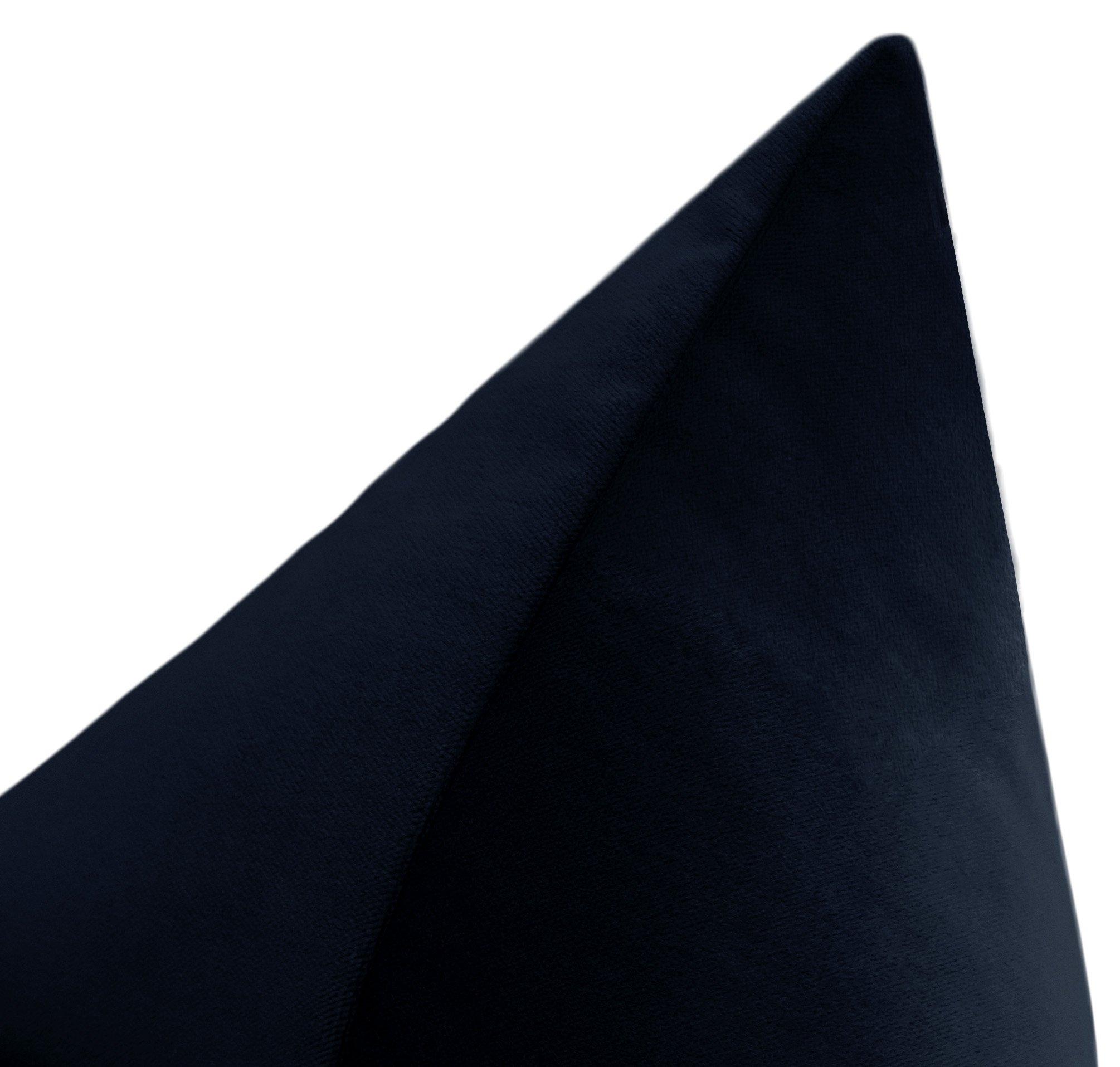 """Society Velvet // Navy Blue - 20"""" X 20"""""""